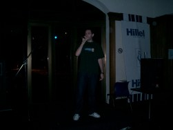 Performing at Hillel House, Buenos Aires, Argentina