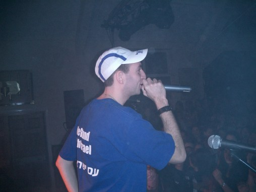 Performing at Ner Yisrael, London