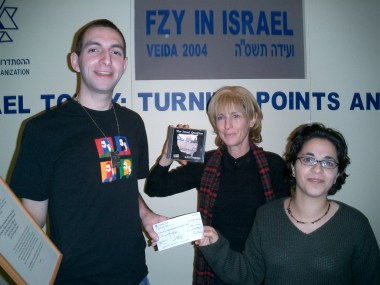 Donating profits from CD sales to the International Coalition for Israeli Missing Soldiers