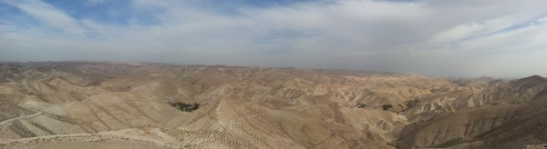 View over Wadi Kelt/Nachal Prat