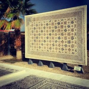 Mosaic at Inn of the Good Samaritan