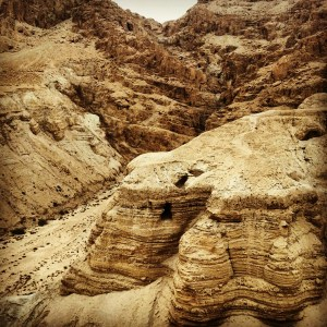 Caves at Qumran