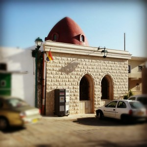 Shrine to Abu Ibrahim in Daliyat-al-Carmel