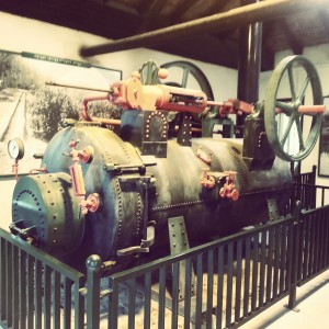 Steam Powered Water Pump at Cheftzi-ba Farm
