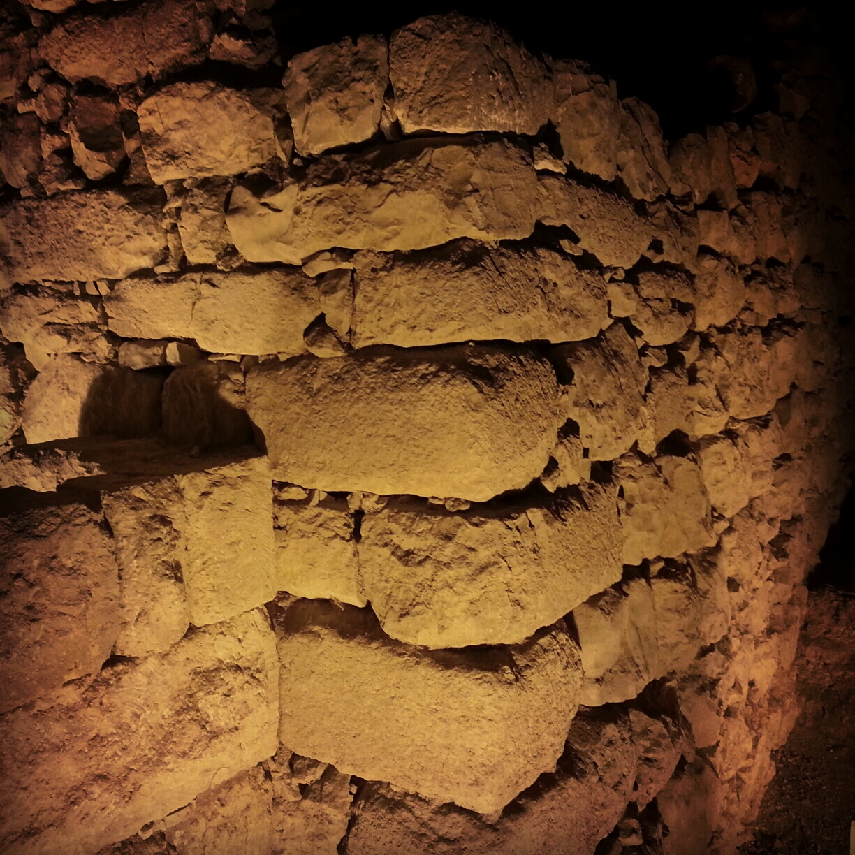 Remains of the gate tower from Hezekiah's wall around Jerusalem