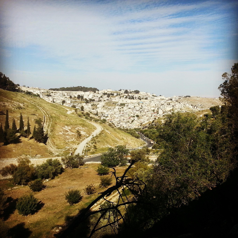 View into Gei Ben Hinnom