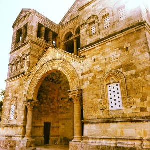 Church of the Transfiguration, Mt Tabor