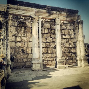Synagogue at Capernaum / Kfar Nachum