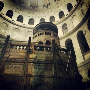 Edicule of the Tomb, Church of the Holy Sepulchre