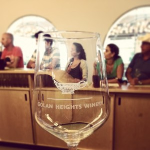 Wine tasting at the Golan Heights Winery