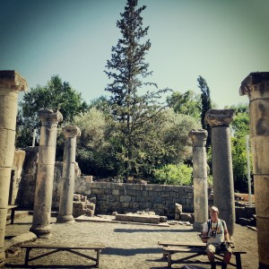 Byzantine period Synagogue at Ancient Katzrin