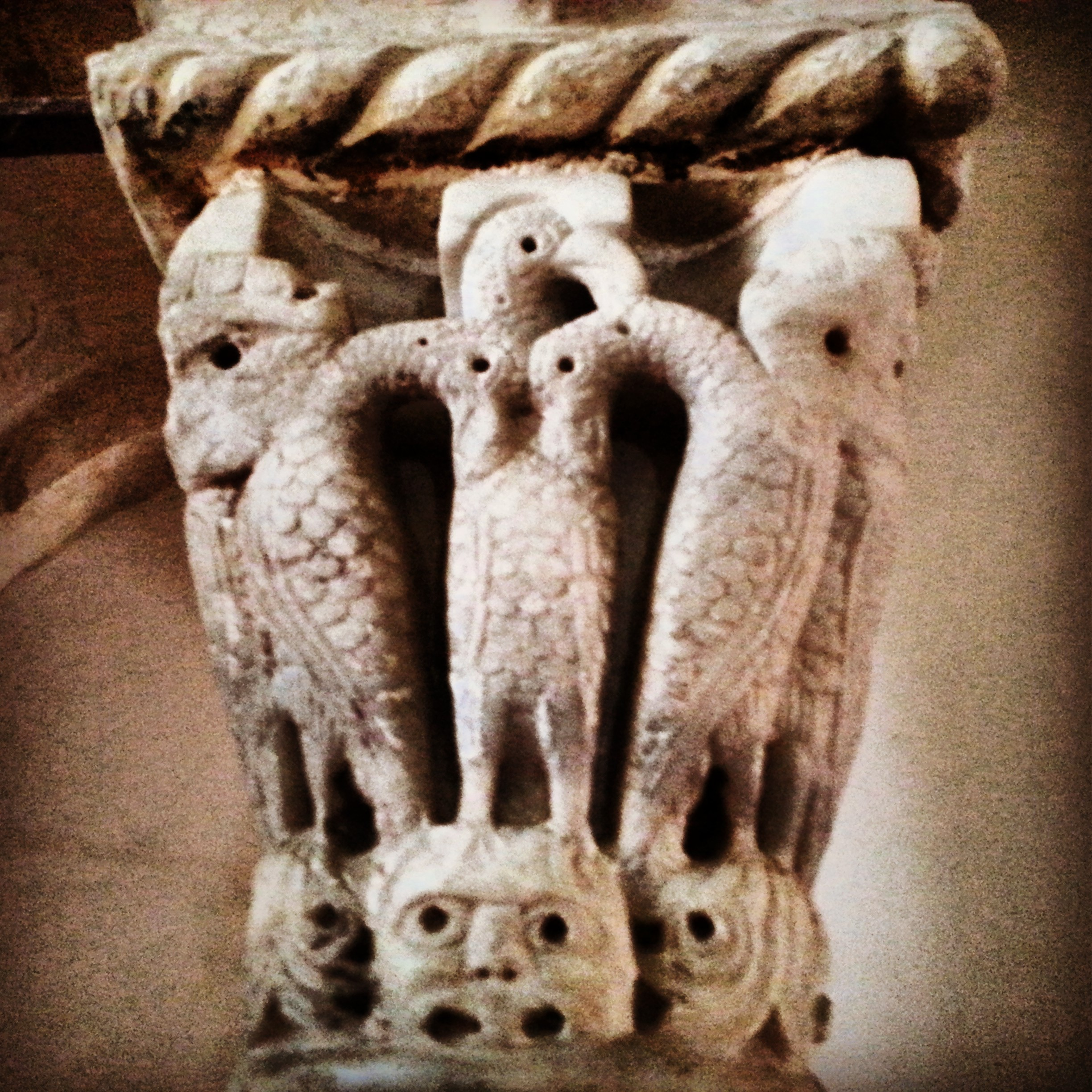 Crusader capital in the Last Supper Room (Cenacle)