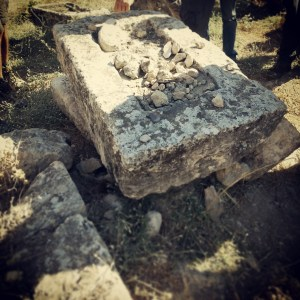Ancient Jewish tomb at Kfar Yasif