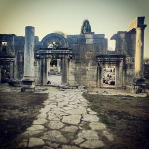 Ancient synagogue at Baram