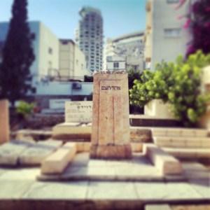 Grave of Ahad Haam, Trumpeldor Cemetery