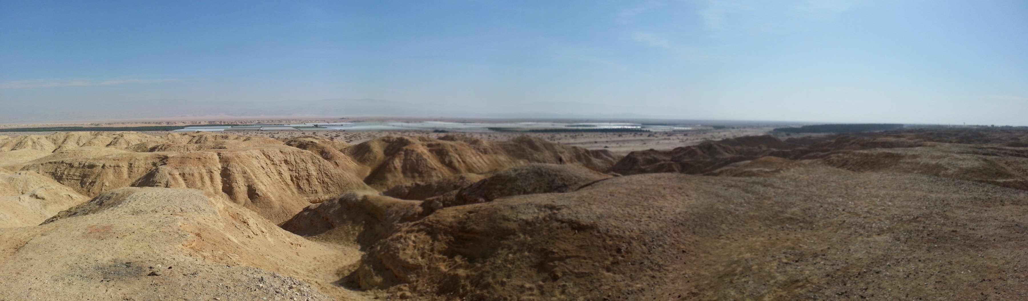 View from the Peace Lookout in the Arava Valley