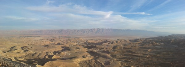 View over the Arava Valley from Shacharut