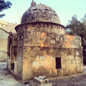 'Al-Kebekiyeh' Mamluk period tomb in Mamilla cemetery, Jerusalem