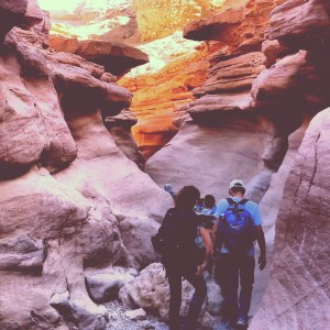 Hiking the Red Canyon in the Eilat Mountains