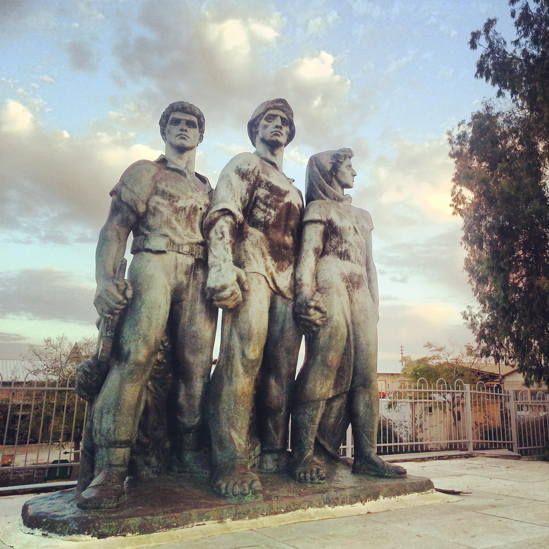 Memorial to the fallen at Kibbutz Negba