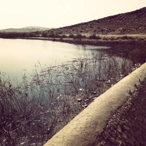 The Yerucham Dam