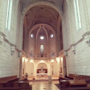 The Trappist Church at Latrun