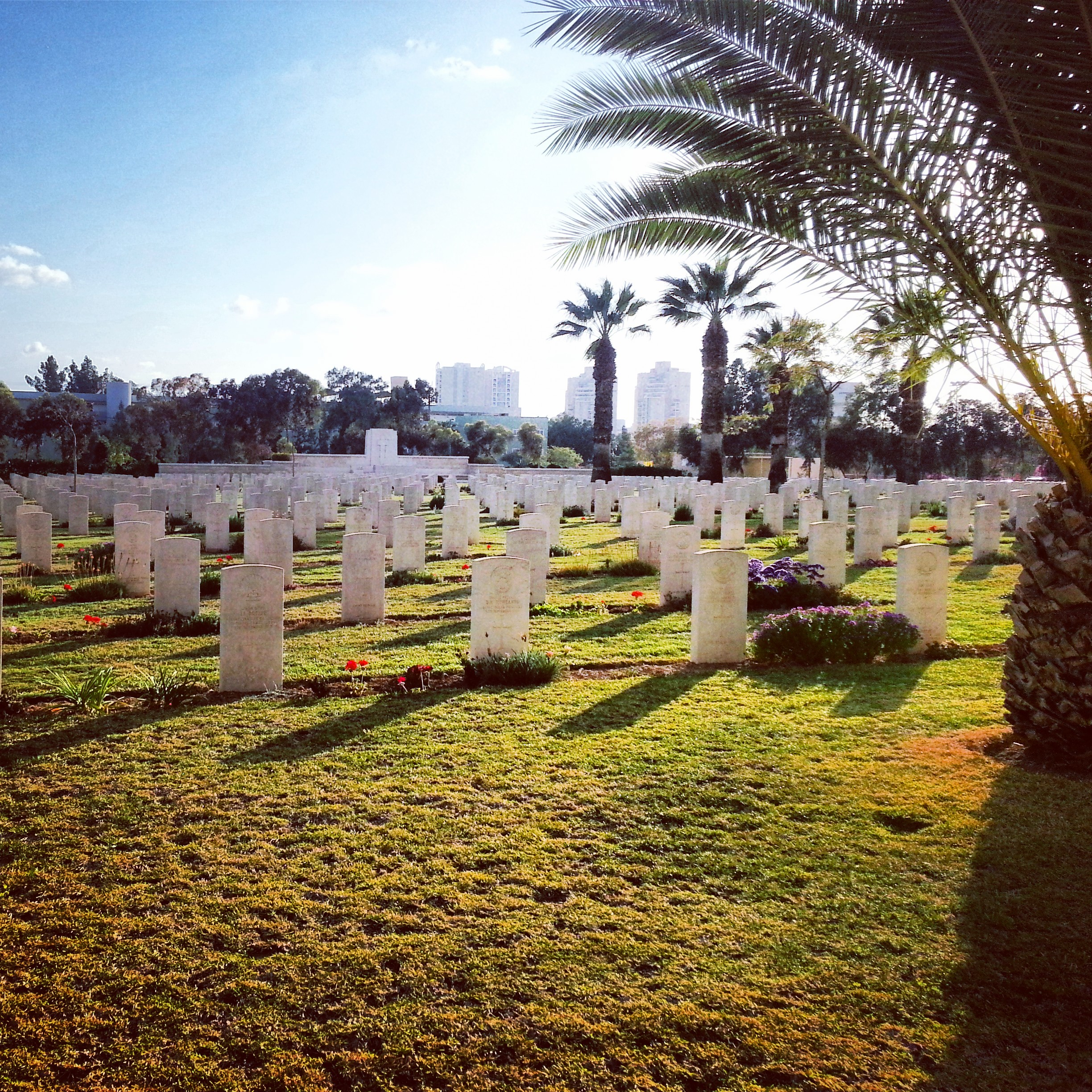 British Military Cemetery, Beer Sheva