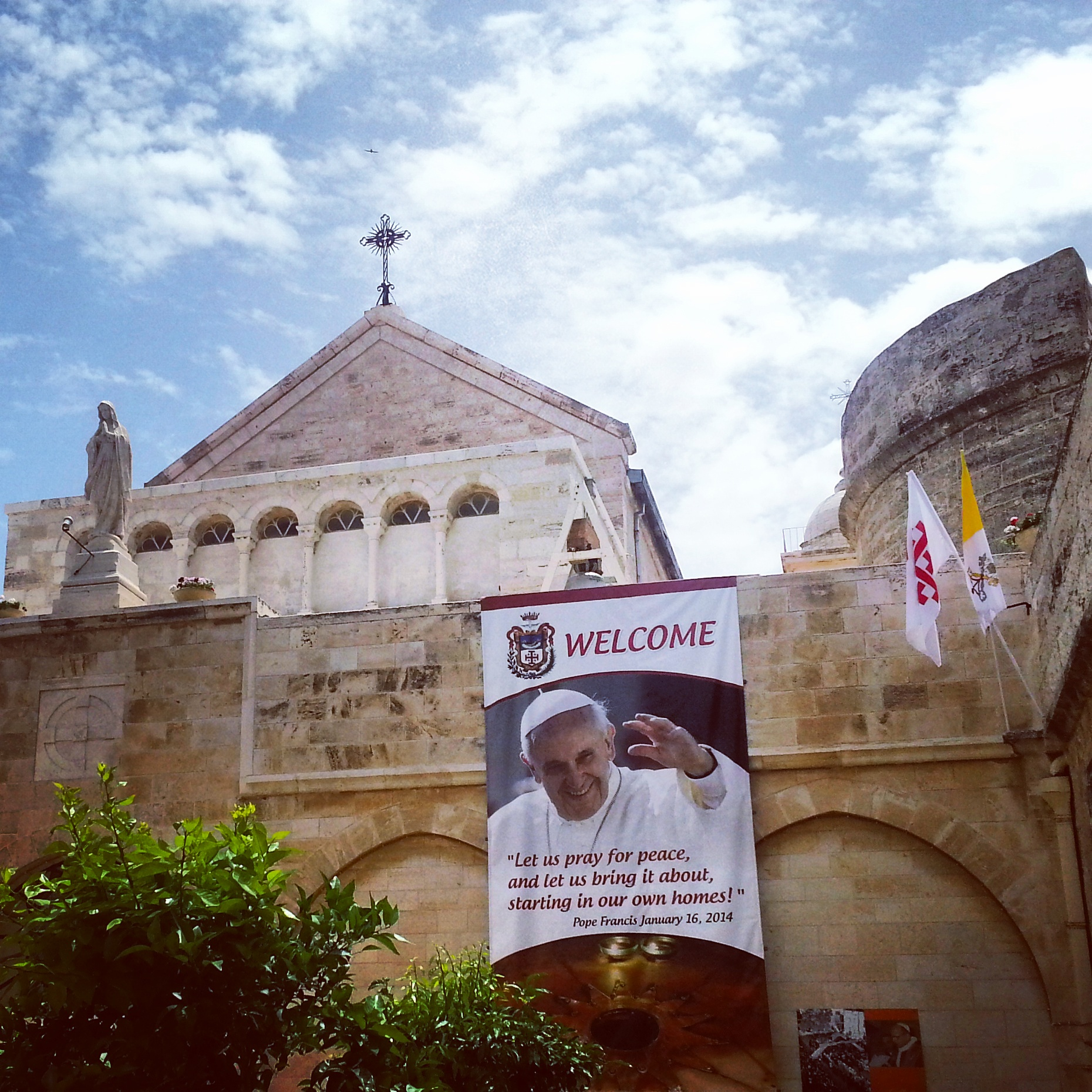 Catholic area, Church of the Nativity, Bethlehem