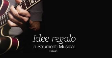 Trovare strumenti musicali online su Amazon