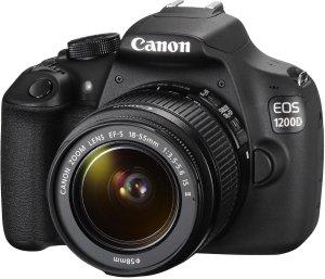 Canon EOS 1200D Fotocamera Reflex Digitale 18 Megapixel con Obiettivo EF-S 18-55mm IS II