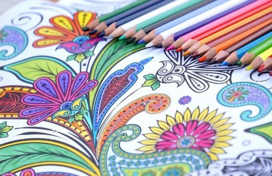 Art Therapy Libri da colorare per adulti
