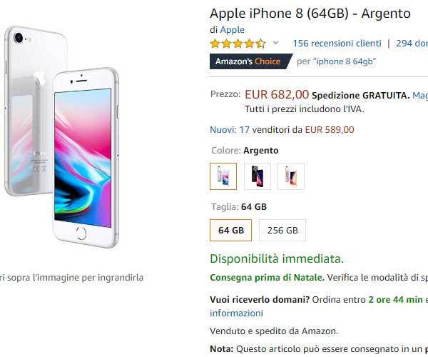 iPhone 8 da acquistare