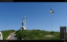 Флаг Украины в Изюме