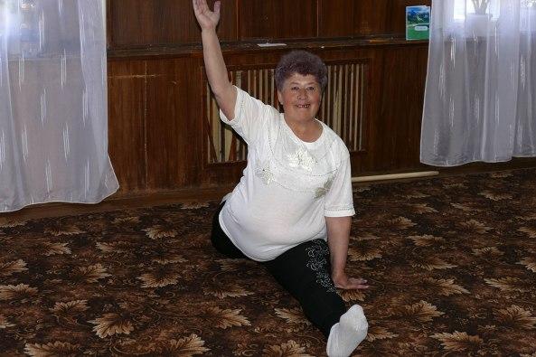 Аксенова Полина Леонидовна - не стареют душой и телом ветераны!
