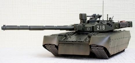 Оплот Т-84 модель, вид спереди
