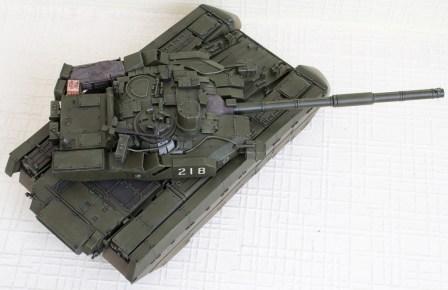 Оплот Т-84 модель, вид сверху