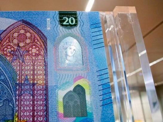 20 евро - новая банкнота