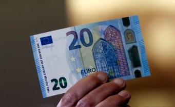 Это новая банкнота 20 евро