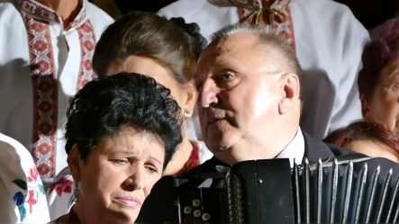 Григорий Редько на сцене