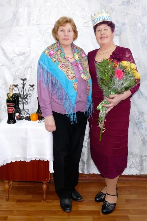 Жекова Оксана Романовна и Полина Аксенова