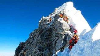 Трудный подъем на Эверест