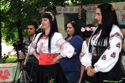 Концерт на городском празднике