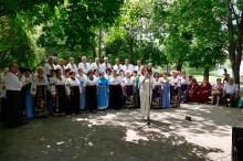 Лисаченко Валентина Николаевна объявляет следующий номер праздничного концерта