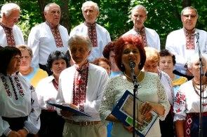 Николай Калюжный и Валентина Лисаченко на концерте