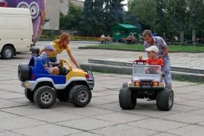 Детский аттракцион - «электромобиль»