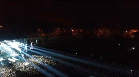 Концерт прошел без инцидентов.