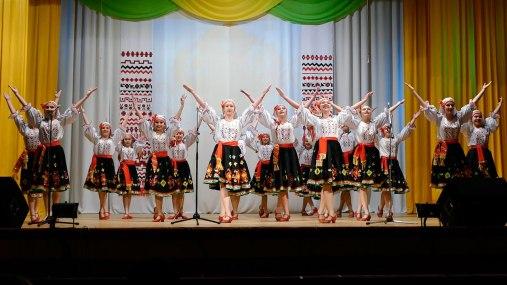 Образцовый аматорский ансамбль народного танца «Вдохновение», город Изюм