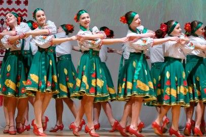 Слева на право: Алиса Нестеренко, Марина Бывалина, Аня Копыл и Аня Жигайло