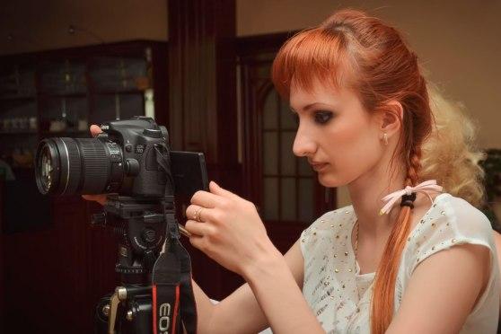За работой на Canon EOS 70D