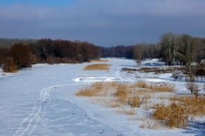 Северский Донец, скованный льдом
